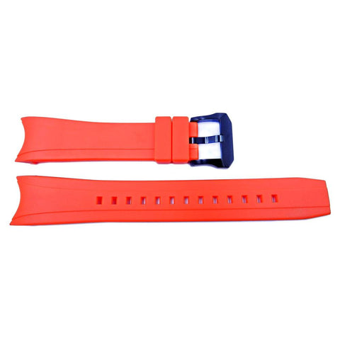 Genuine Citizen Rubber Orange 22mm Watch Strap