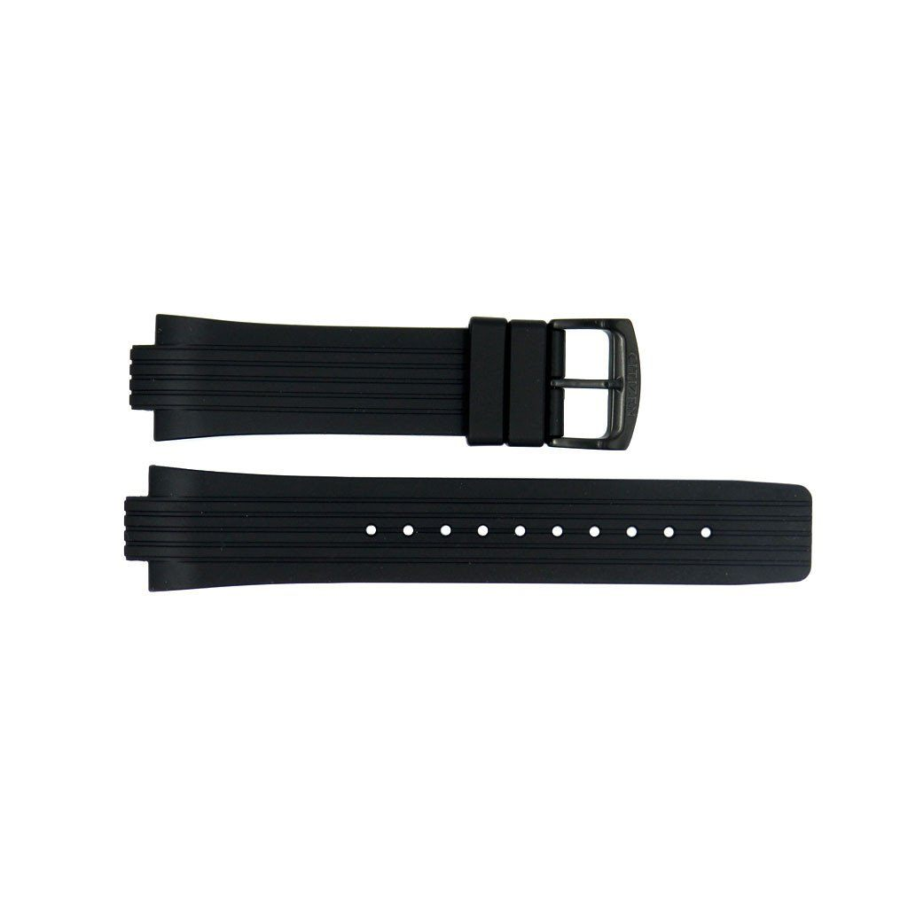 Genuine Citizen Eco-Drive Black Rubber 24/12mm Watch Strap