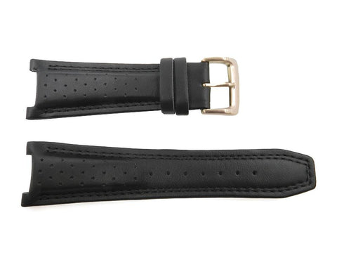 Citizen Black Leather 26mm Integrated Fit Watch Strap