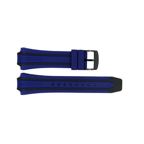 Genuine Citizen Eco-Drive Blue Rubber 26/20mm Watch Strap