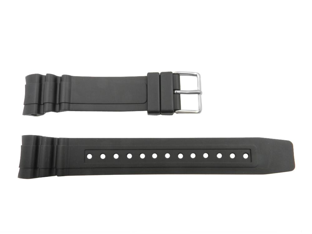Citizen Pro Master Black Rubber 23mm Curved End Watch Strap