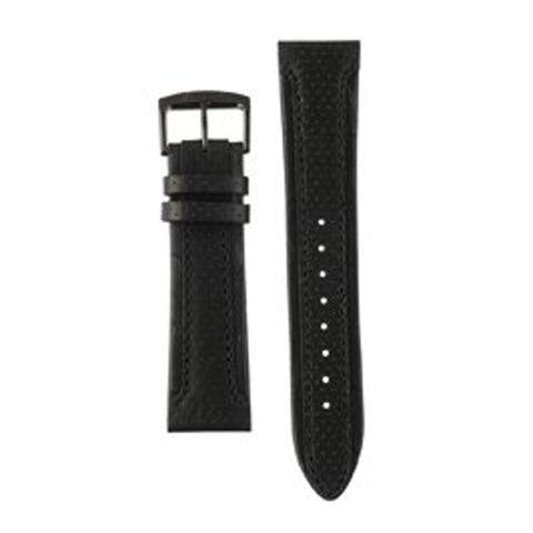 CITIZEN WATCH STRAP BLACK LEATHER 22MM