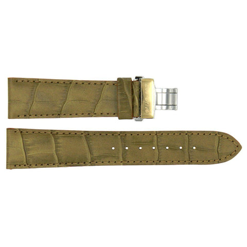 Genuine Citizen Eco-Drive Tan Alligator Grain 21mm Leather Watch Strap