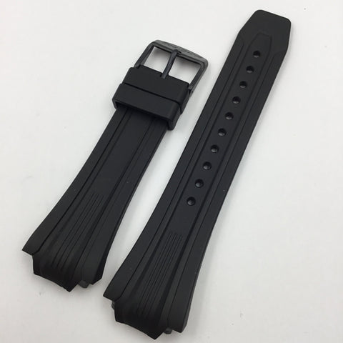Genuine Citizen Black Rubber Eco Drive 26/20mm Watch Strap