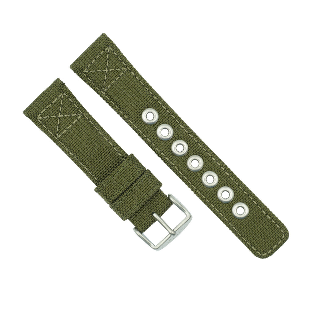 446f65e702fc2 Citizen 22mm Green Nylon Watch Strap – Total Watch Repair