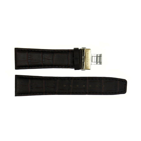 Genuine Citizen Eco-Drive Brown Alligator Grain 23mm Leather Watch Strap