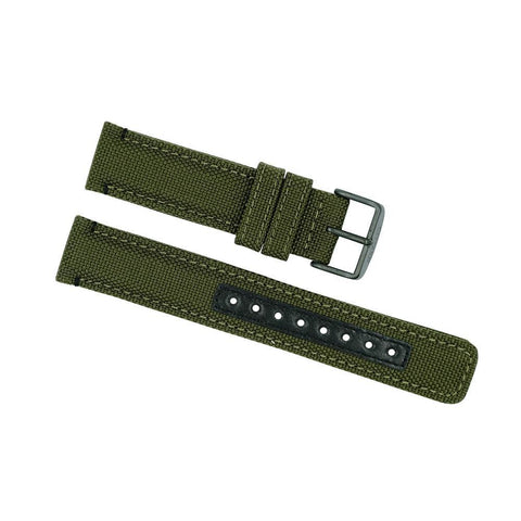 Citizen 20mm Green Cordura Cloth Watch Strap