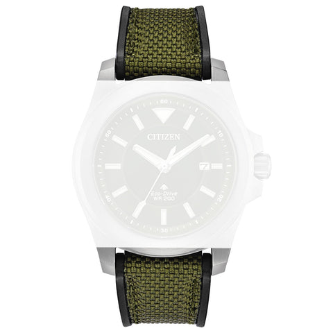 Citizen 59-S53998 Green Leather Strap 22mm