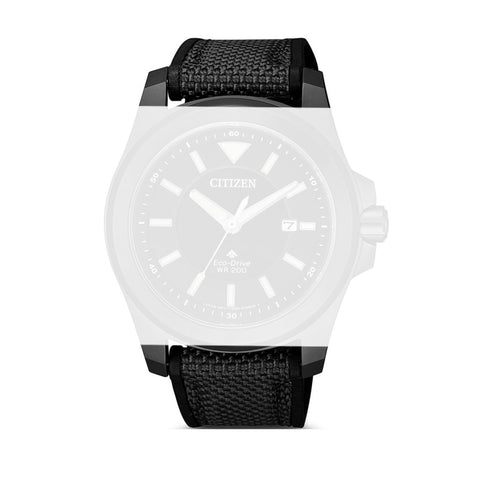 Citizen 59-S53999 Black Textile Strap 22mm