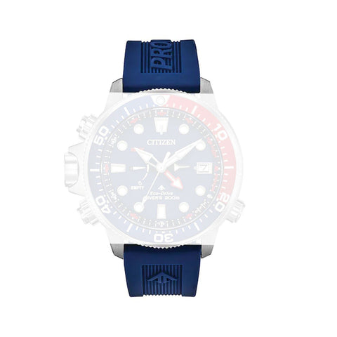 Citizen 59-S54060 Blue Silicone Rubber Strap 22mm