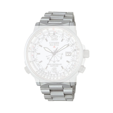 CITIZEN 24MM WATCH BRACELET SILVER TONE TITANIUM