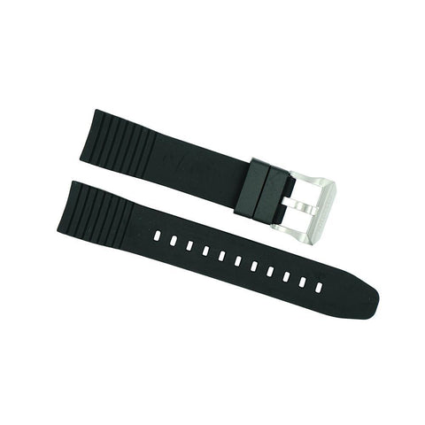 Citizen 22mm Black Rubber Specialty Strap