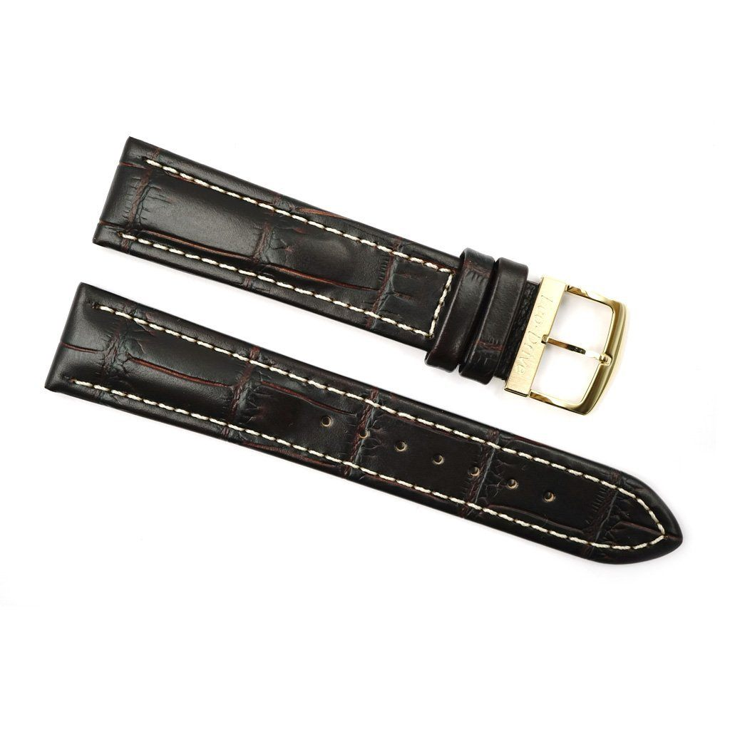 Citizen 20mm Brown Genuine Leather Strap