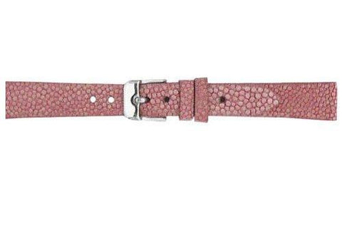 Hadley Roma Pink Genuine Stingray Matte Watch Band