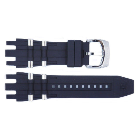 Genuine Invicta Subaqua Noma Series Mens Polyurethane Black/Silver 26mm Watch Band