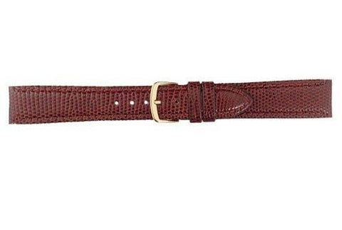 Hadley Roma Tan Genuine Java Lizard Watch Band