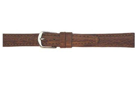 Hadley Roma Tan Light Pad Textured Leather Watch Band