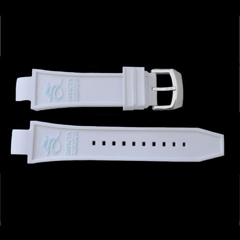 Genuine Invicta Subaqua Noma III Polyurethane White 24mm Watch Band