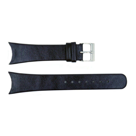 Genuine Skagen Black Leather 22mm Watch Strap - Screws