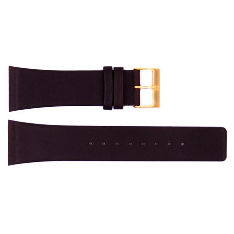 Genuine Skagen Brown Genuine Leather 26mm Watch Strap - Screws
