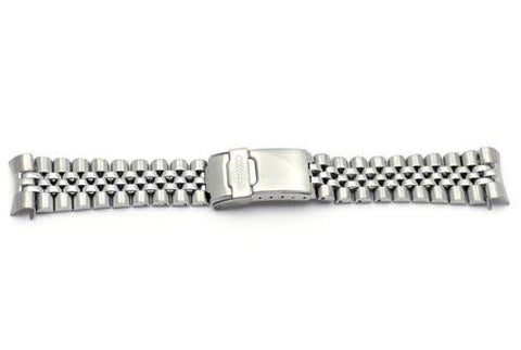 Seiko Stainless Steel Double Locking Clasp 22mm Watch Band