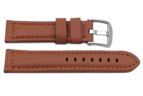 Genuine Heavy Padded Leather Panerai Sport Rouille Watch Strap