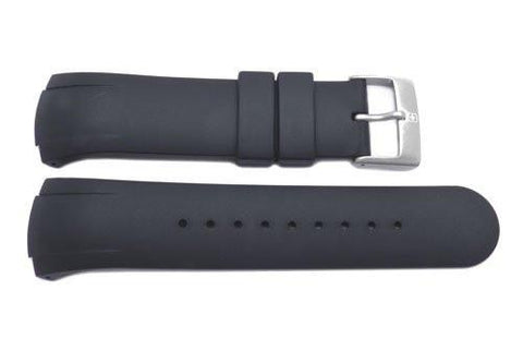 Genuine Swiss Army Black Rubber SporTech 26mm by14mm Watch Strap