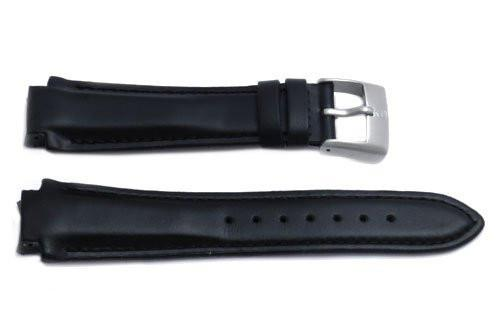 Genuine Leather Black Excursion Series 15mm Watch Strap