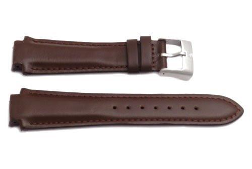 Genuine Leather Brown Excursion Series 15mm Watch Strap