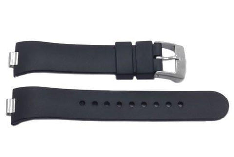 Genuine Swiss Army Black Rubber Summit Series Watch Band