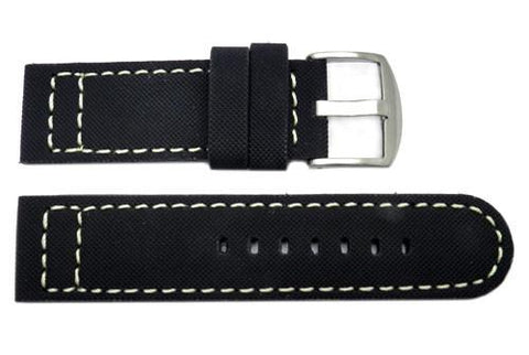 Rubberized Kevlar-Tech Sport Watch Strap