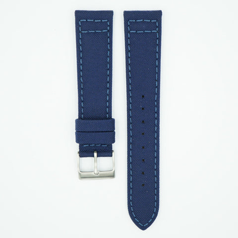Cordura Fabric Navy Watch Strap
