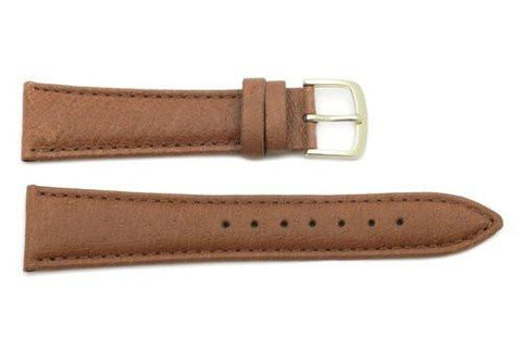 Hadley Roma Genuine Honey Pig Skin Leather Watch Strap