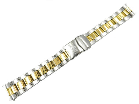 Genuine Invicta Men's Pro Diver Dual Tone Stainless Steel 20mm Watch Band