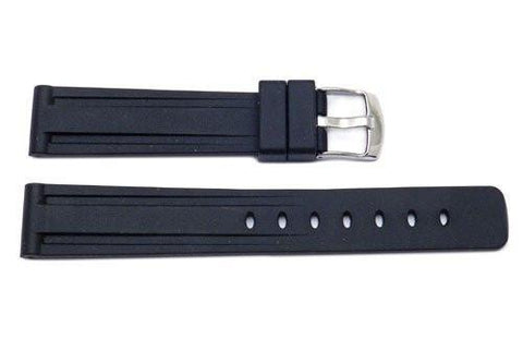 Genuine Silicone Heavy Duty Sport Arctos Style Watch Strap - Assorted Colors Available