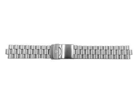 Wenger 19mm Brushed Finish Stainless Steel Watch Strap