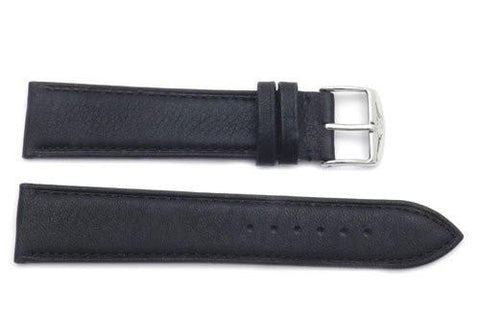 ZRC Genuine Smooth Soft Handmade Bull Leather Teflon Coated Anti-Allergic Watch Strap