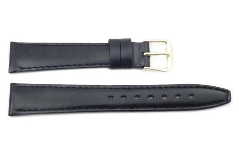 Genuine Calf Leather Smooth Watch Strap