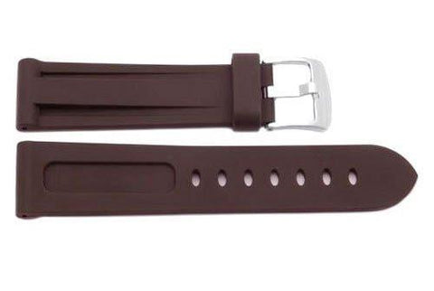 Heavy Duty Silicone Rubber Sport Watch Band