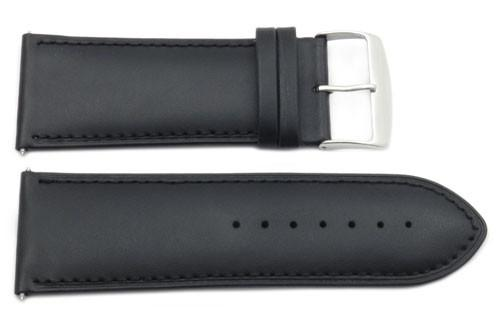 Genuine Smooth Leather Extra Wide 32mm Watch Strap
