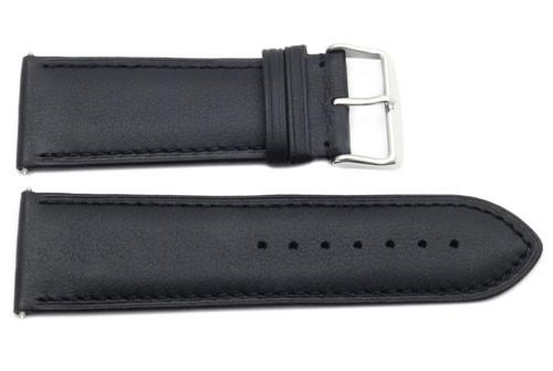 Genuine Smooth Leather Extra Wide 28mm Watch Strap