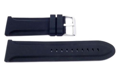 Genuine Silicone Heavy Duty Replacement Watch Strap - Assorted Colors Available