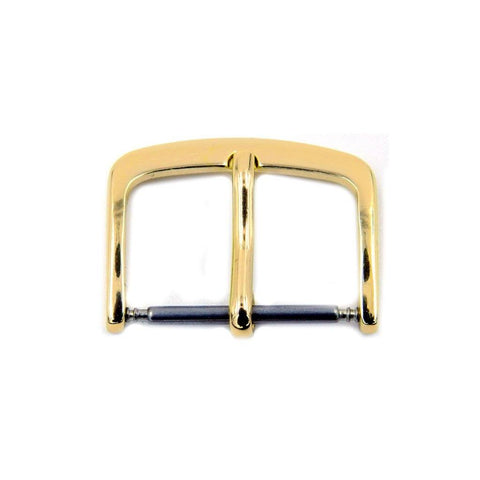 Gold Tone Tang Buckle