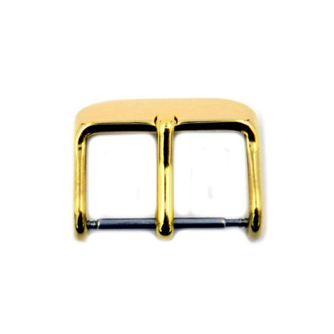 Gold Tone Sport Style Tang Buckle