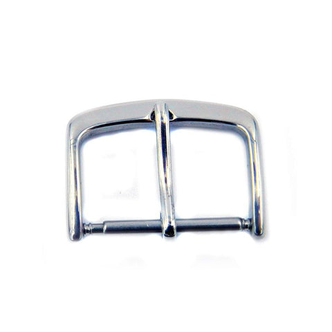 Silver Tone Tang Buckle