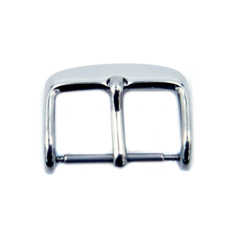 Silver Tone Sport Style Tang Buckle