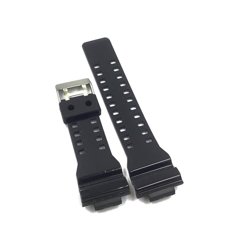 Bandenba CA-5462 Black Rubber Watch Strap