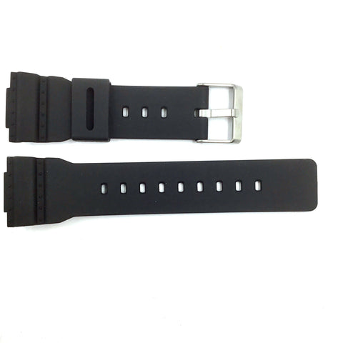 Bandenba CA-5949 Black Rubber Watch Strap