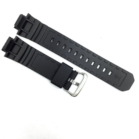Bandenba CA-6061 Black Rubber Watch Strap