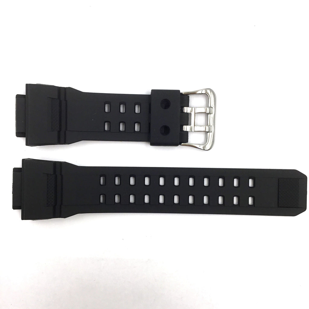 Bandenba CA-6562 Black Rubber Watch Strap